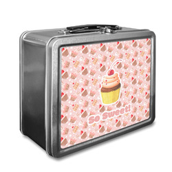 Sweet Cupcakes Lunch Box w/ Name or Text