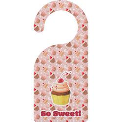 Sweet Cupcakes Door Hanger w/ Name or Text