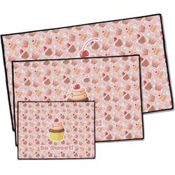 Sweet Cupcakes Door Mat (Personalized)