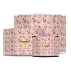 Sweet Cupcakes Drum Lamp Shade (Personalized)