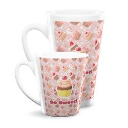 Sweet Cupcakes Latte Mug (Personalized)