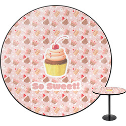 Sweet Cupcakes Round Table (Personalized)