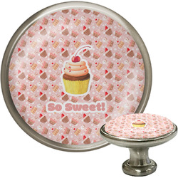 Sweet Cupcakes Cabinet Knobs (Personalized)