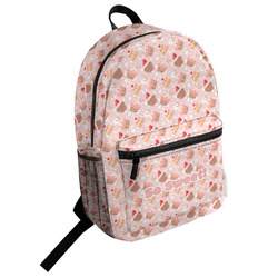 Sweet Cupcakes Student Backpack (Personalized)