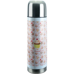 Sweet Cupcakes Stainless Steel Thermos (Personalized)