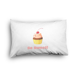 Sweet Cupcakes Pillow Case - Toddler - Graphic (Personalized)