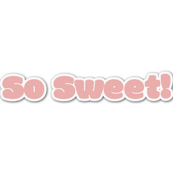 Sweet Cupcakes Name/Text Decal - Custom Sizes (Personalized)