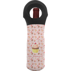 Sweet Cupcakes Wine Tote Bag w/ Name or Text