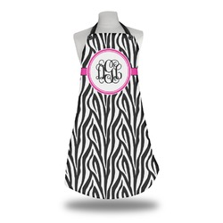 Zebra Print Apron (Personalized)
