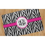 Zebra Print Area Rug (Personalized)