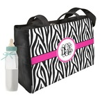 Zebra Print Diaper Bag (Personalized)