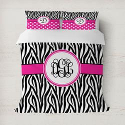 Zebra Print Duvet Covers (Personalized)