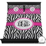 Zebra Print Duvet Cover Set (Personalized)