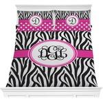 Zebra Print Comforters (Personalized)