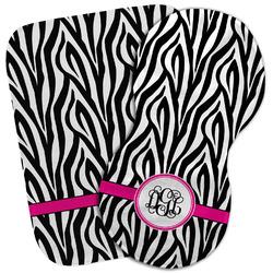 Zebra Print Burp Cloth (Personalized)