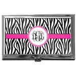 Zebra Print Business Card Case
