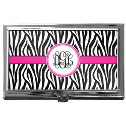 Zebra Print Business Card Case