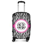 Zebra Print Suitcase (Personalized)