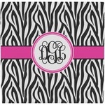 Zebra Print Ceramic Tile Hot Pad (Personalized)