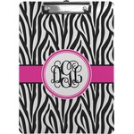 Zebra Print Clipboard (Personalized)