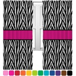 Zebra Print Curtains (2 Panels Per Set) (Personalized)