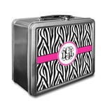 Zebra Print Lunch Box (Personalized)
