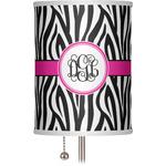 "Zebra Print 7"" Drum Lamp Shade (Personalized)"