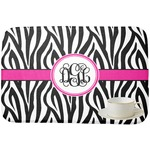 Zebra Print Dish Drying Mat (Personalized)