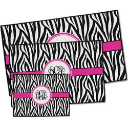 Zebra Print Door Mat (Personalized)