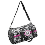 Zebra Print Duffel Bag (Personalized)