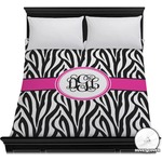 Zebra Print Duvet Cover (Personalized)