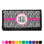Zebra Print Checkbook Cover (Personalized)