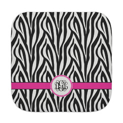 Zebra Print Face Towel (Personalized)