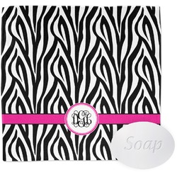 Zebra Print Wash Cloth (Personalized)