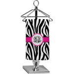 Zebra Print Finger Tip Towel - Full Print (Personalized)