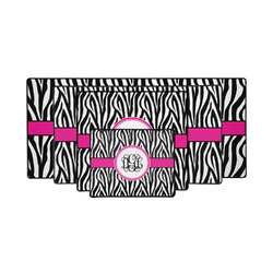 Zebra Print Gaming Mouse Pad (Personalized)