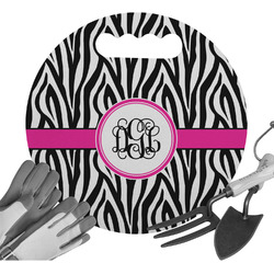 Zebra Print Gardening Knee Cushion (Personalized)