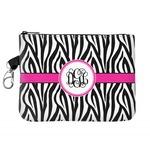 Zebra Print Golf Accessories Bag (Personalized)