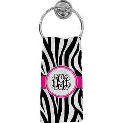 Zebra Print Hand Towel - Full Print (Personalized)