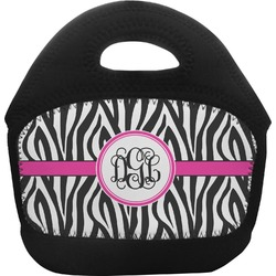 Zebra Print Toddler Lunch Tote (Personalized)