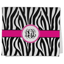 Zebra Print Kitchen Towel - Full Print (Personalized)