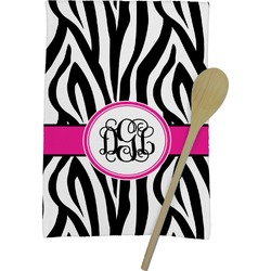 Zebra Print Kitchen Towel - Full Print (Personalized)