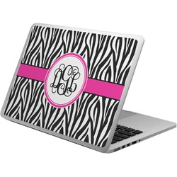 Zebra Print Laptop Skin - Custom Sized (Personalized)