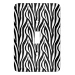 Zebra Print Light Switch Covers (Personalized)