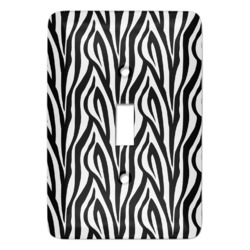 Zebra Print Light Switch Covers - Multiple Toggle Options Available (Personalized)