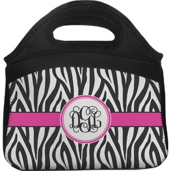 Zebra Print Lunch Tote (Personalized)
