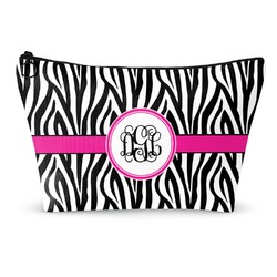 Zebra Print Makeup Bags (Personalized)
