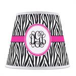 Zebra Print Empire Lamp Shade (Personalized)