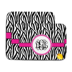 Zebra Print Memory Foam Bath Mat (Personalized)