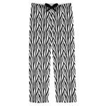 Zebra Print Mens Pajama Pants (Personalized)